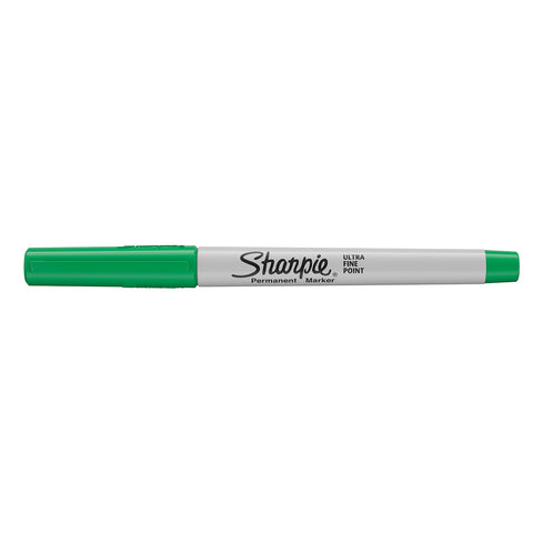 Sharpie Ultra Fine Point Green Permanent Marker  Sharpie Markers