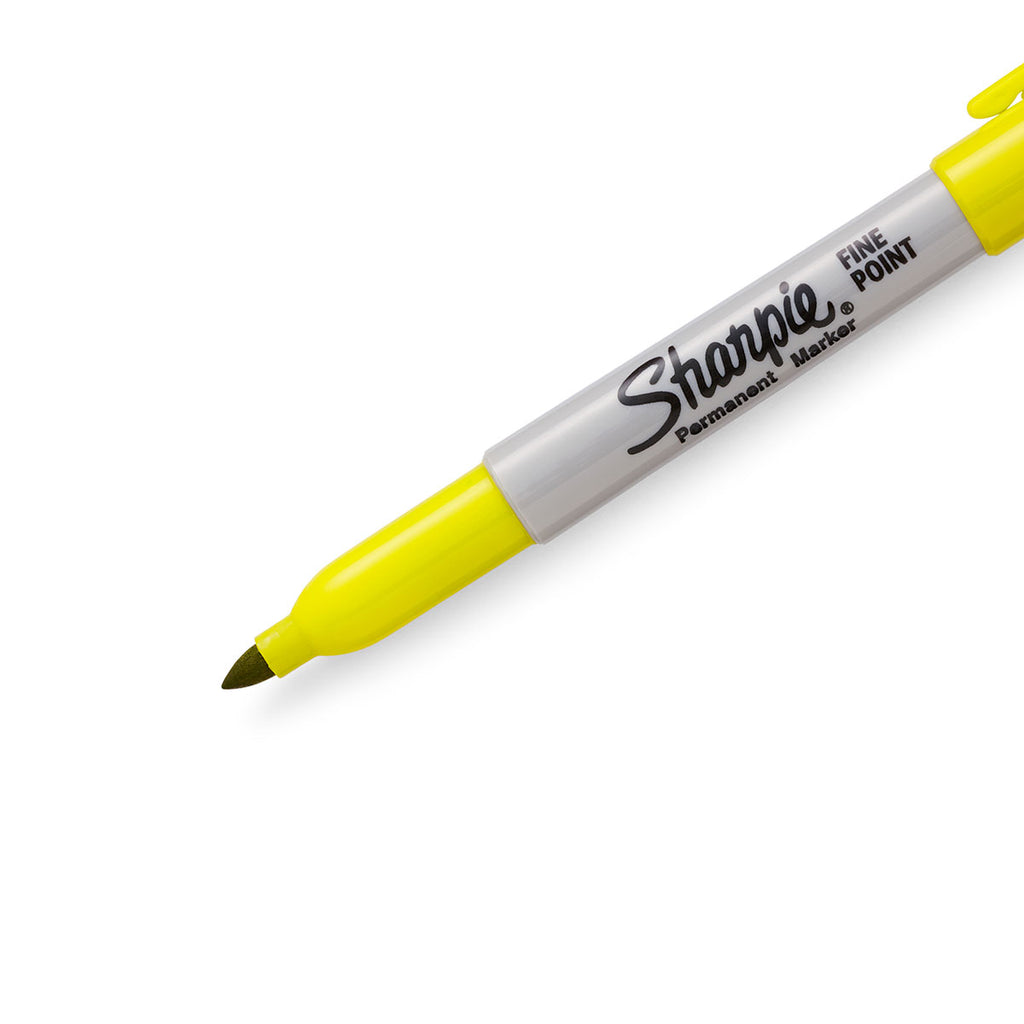 Sharpie Fine Point Yellow Permanent Marker