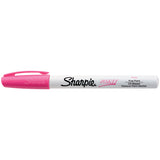 Sharpie Paint Marker Pink, Fine Point, Oil Based  Sharpie Markers