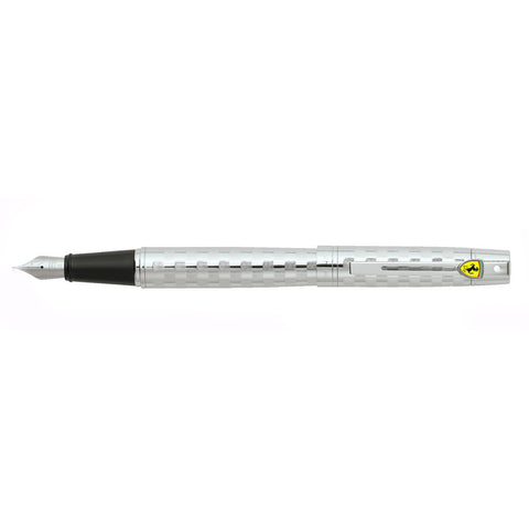 Sheaffer Ferrari 300 Checkered Flag Fountain Pen + Free 5 Assorted Color Cartridges  Sheaffer Fountain Pens