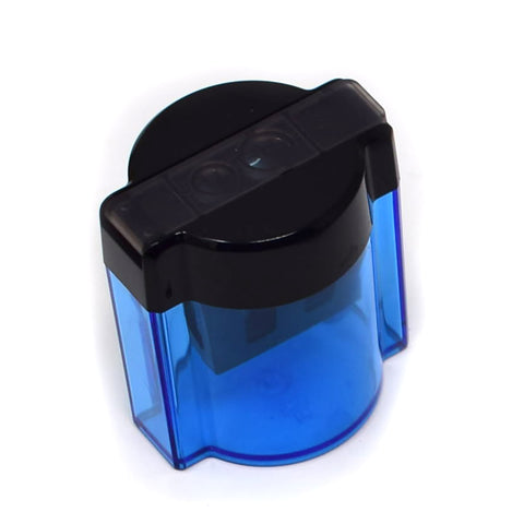 Staedtler 2 Hole Pencil Sharpener With Receptacle, Blue