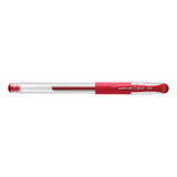 Uni Ball Signo DX .38 mm Red Ultra Micro Gel Pen  Uni-Ball Gel Ink Pens