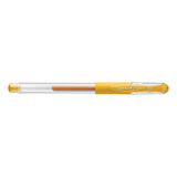 Uni Ball Signo DX .38 mm Golden Yellow Ultra Micro Gel Pen  Uni-Ball Gel Ink Pens