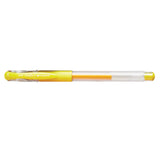 Uni Ball Signo DX .38 mm Yellow Ink, Ultra Micro Gel Pen  Uni-Ball Gel Ink Pens