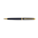 Waterman Hemisphere Matte Black Gold Trim Ballpoint Pen, Blue Ink  Waterman Ballpoint Pen
