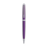 Waterman Hemisphere Purple Fountain Pen, Ballpoint Pen, Purple Ink Bottle and Converter