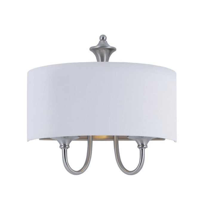 Maxim Lighting 10012WLSN Bongo 1-Light Wall Sconce in Satin Nickel