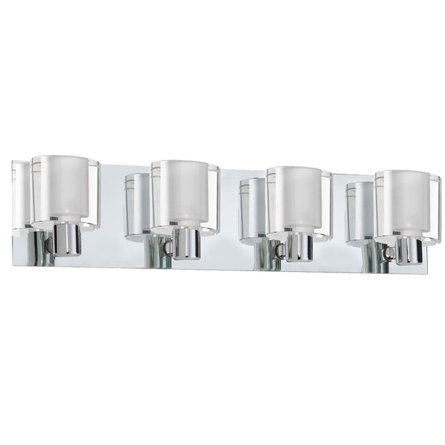 Dainolite V89-4W-PC Ellipse 4 Light Sconce,Polished Chrome Finish