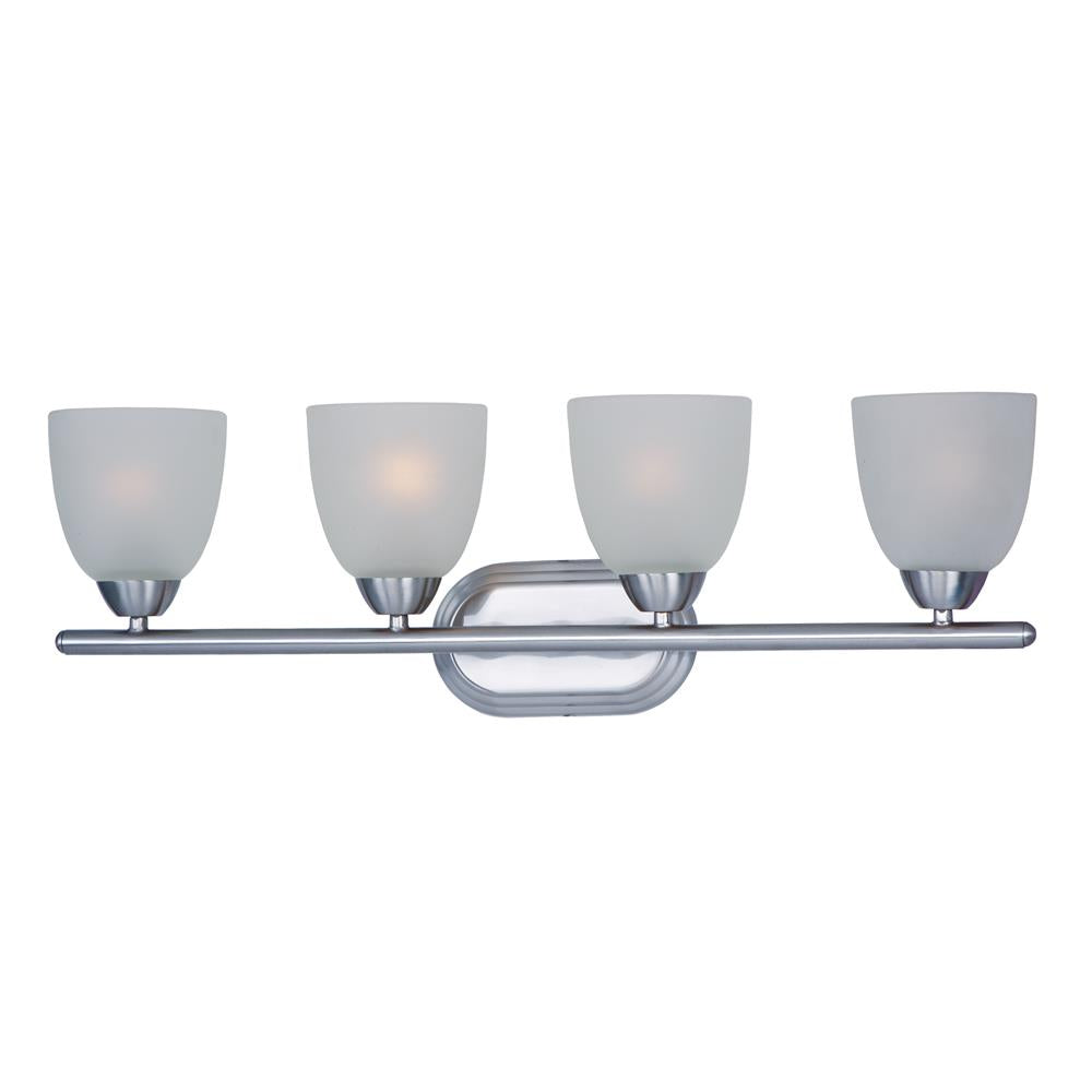 Maxim Lighting 11314FTPC Axis 4-Light Bath Vanity in Polished Chrome