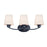 Maxim Lighting 11833SWBK Shelter 3-Light Bath Vanity in Black