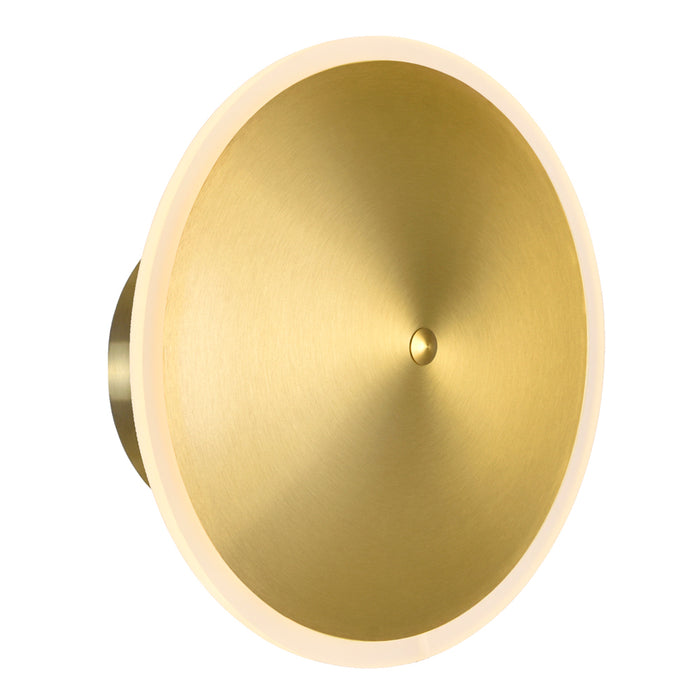 CWI Lighting 1204W12-1-625 LED Sconce with Brass Finish