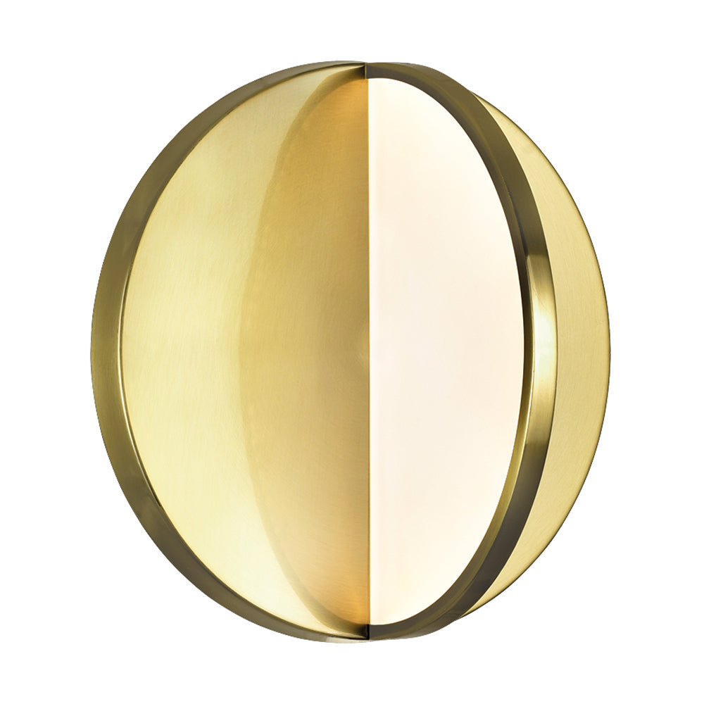 CWI Lighting 1206W10-1-629-A LED Sconce with Brushed Brass Finish