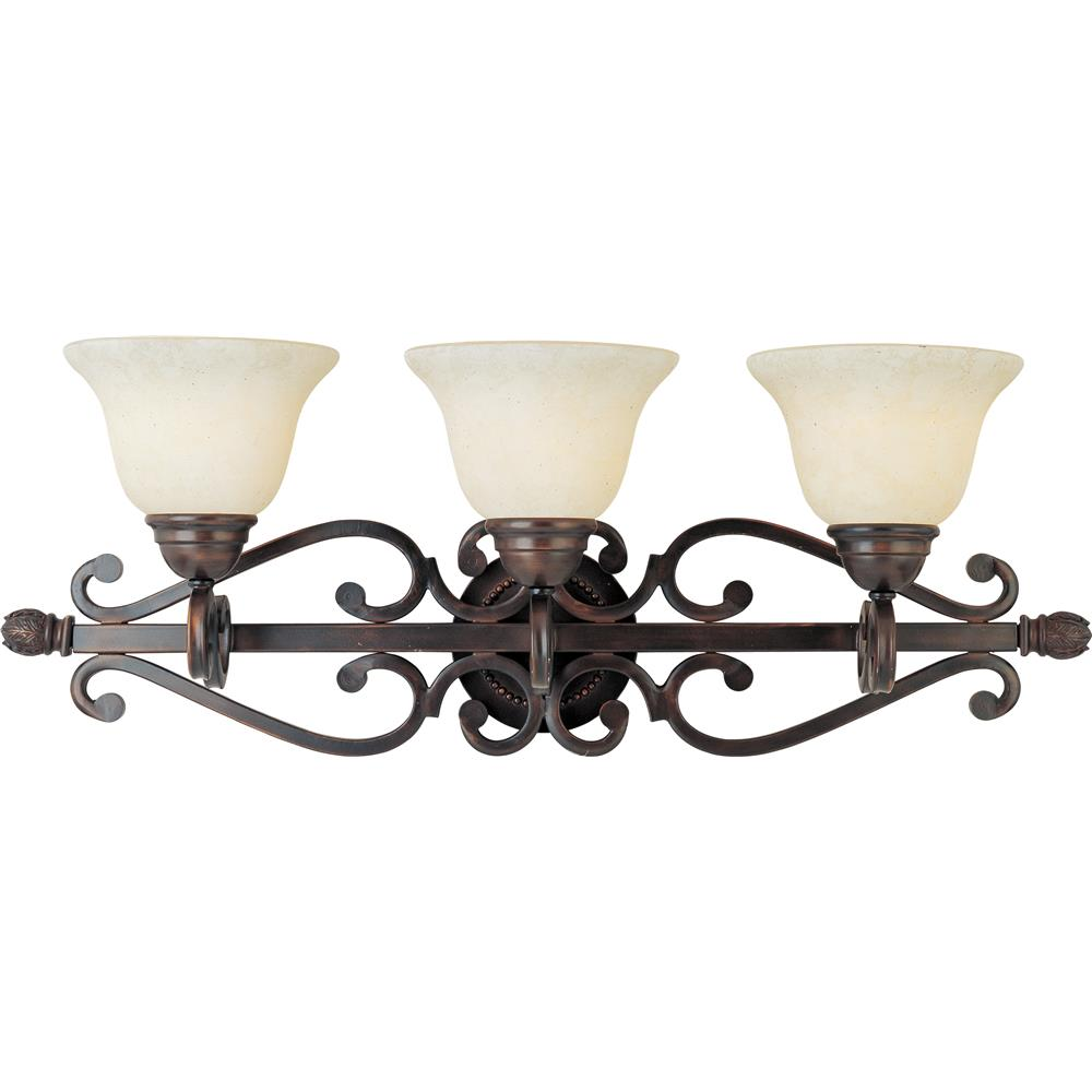 Maxim Lighting 12213FIOI Manor 3-Light Bath Vanity in Oil Rubbed Bronze