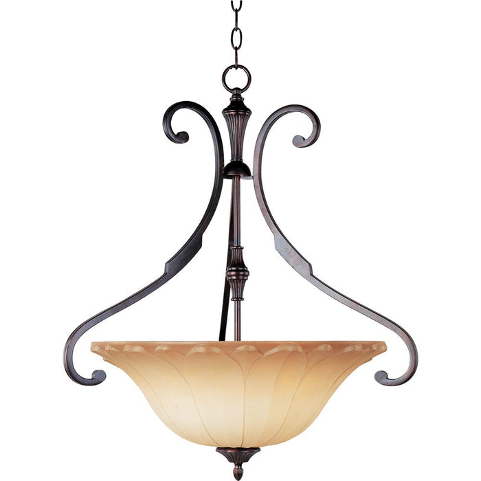 Maxim Lighting 13503WSOI Allentown 3-Light Pendant in Oil Rubbed Bronze