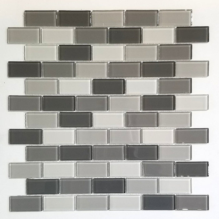 1x2 Aspen Grey Kitchen Backsplash Tiles