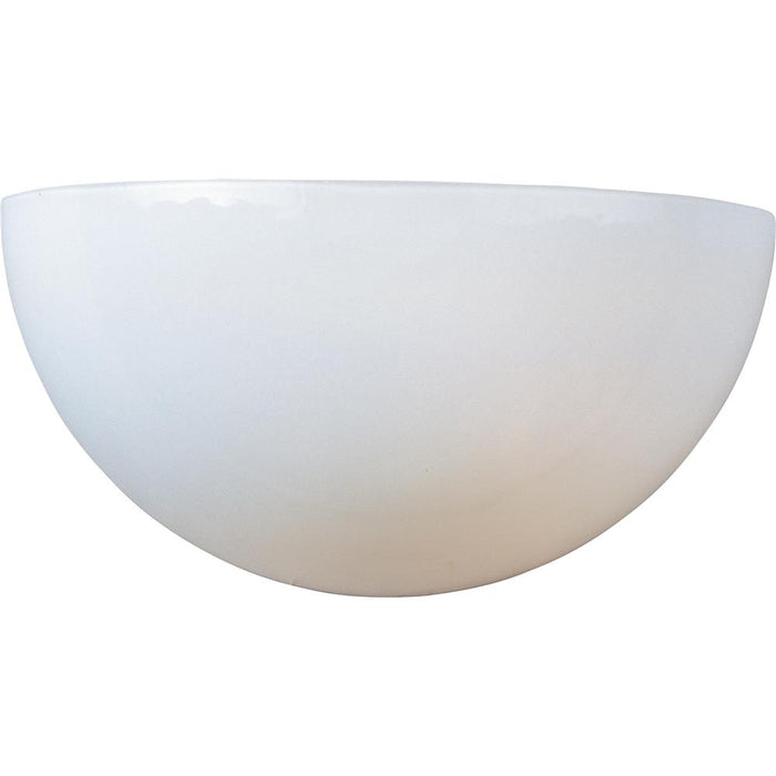 Maxim Lighting 20585WTWT Essentials 1-Light Wall Sconce in White