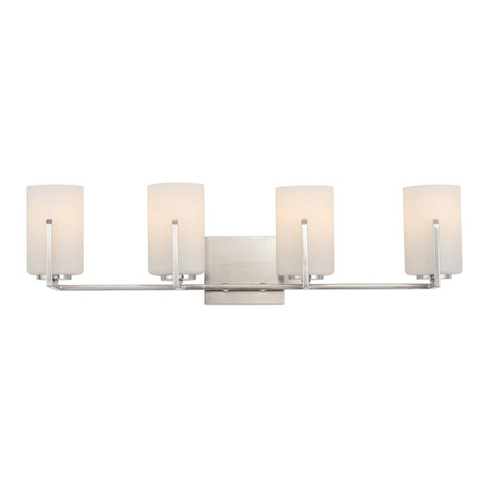 Maxim Lighting 21284SWSN Dart 4-Light Bath Vanity in Satin Nickel
