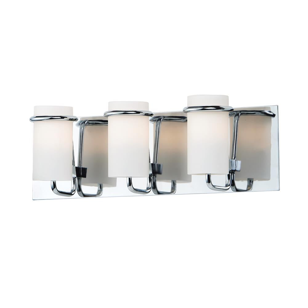 Maxim Lighting 22023SWPC Avant 3-Light Bath Vanity