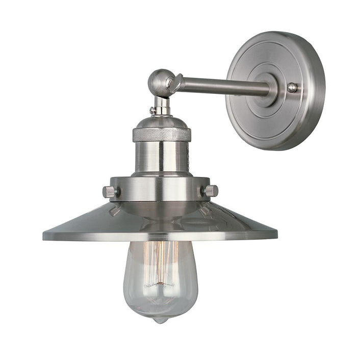 Maxim Lighting 25060SN Mini Hi-Bay 1-Light Wall Sconce in Satin Nickel