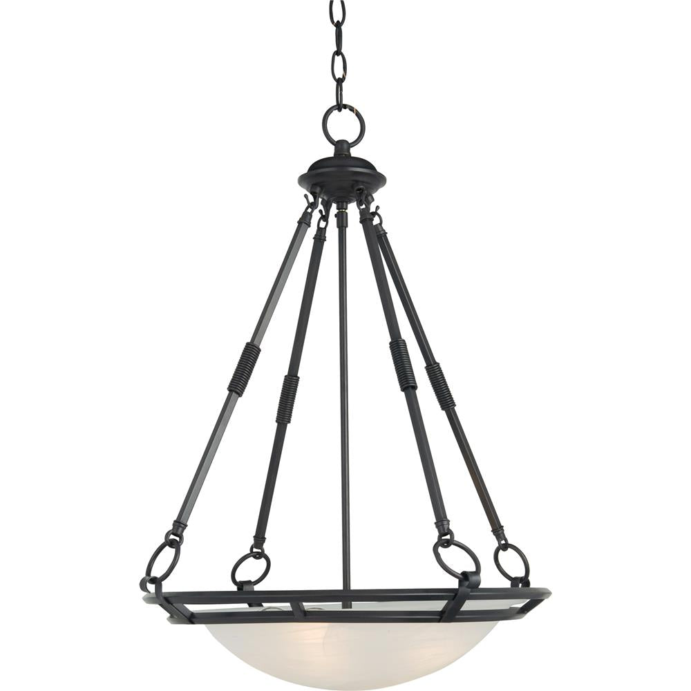 Maxim Lighting 2672MRBZ Stratus 4-Light Pendant in Bronze