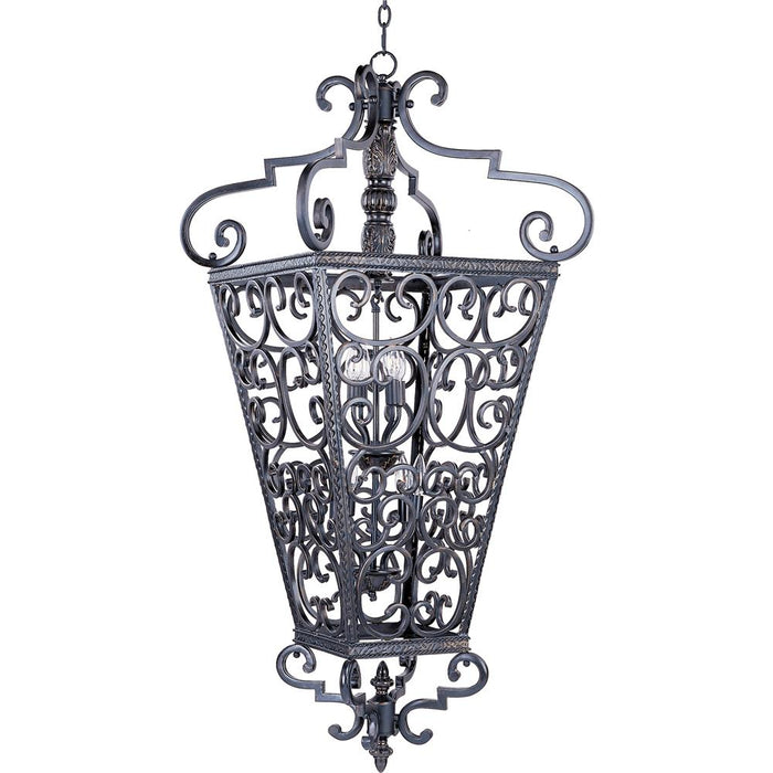 Maxim Lighting 2938KB Southern 8-Light Entry Foyer Pendant in Kentucky Bronze