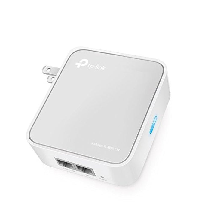 TP-LINK TL-WR810N Wireless Wi-Fi Travel Router w/ Access Point/ TV Adapter/Repeater/Hotspot (WISP) Modes, Up to 300Mbps