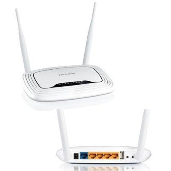 "Tp-Link - Wireless 300N Router ""Product Category: Networking Wireless Singleband/Routers & Gateways"""