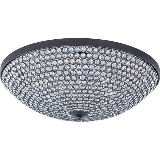 Maxim Lighting 39873BCBZ Glimmer 9-Light Flush Mount