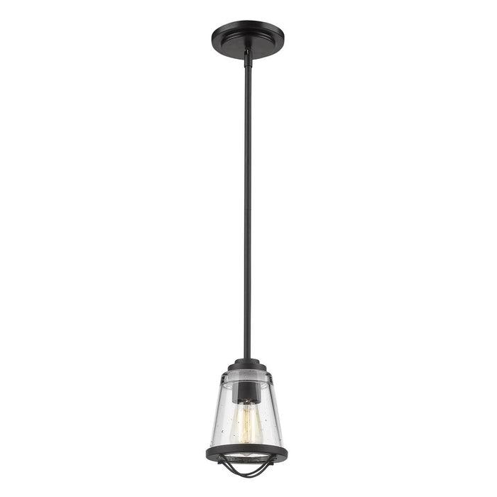 Z-Lite 444MP-BRZ Mariner 1 Light Mini Pendant in Bronze