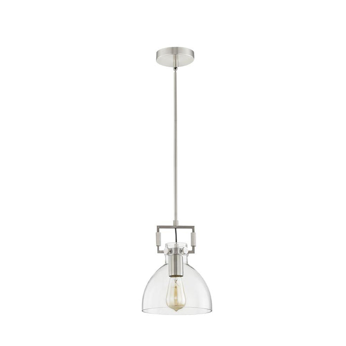 L2 Lighting 4801-89 Single pendant lamp 	 in Brushed Steel