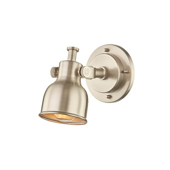L2 Lighting 4849-89 Single wall sconce 	 in Brushed Steel