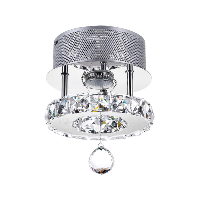 CWI Lighting 5080C7ST Ring LED Flush Mount with Chrome finish