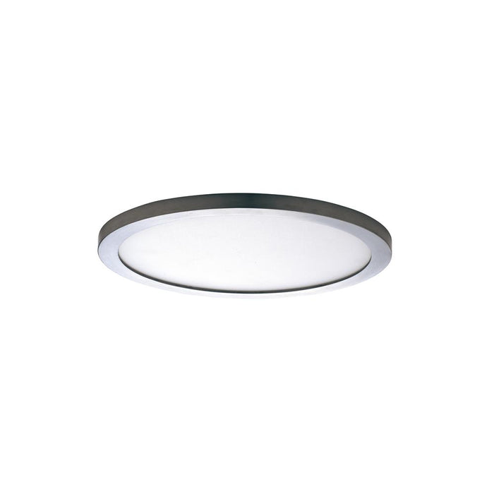"Maxim Lighting 57712WTSN Wafer LED 7"" RD 3000K Wall/Flush Mount in Satin Nickel"