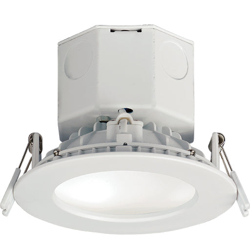 "Maxim Lighting 57792WTWT Cove 4"" LED Recessed Downlight 3000K in White"