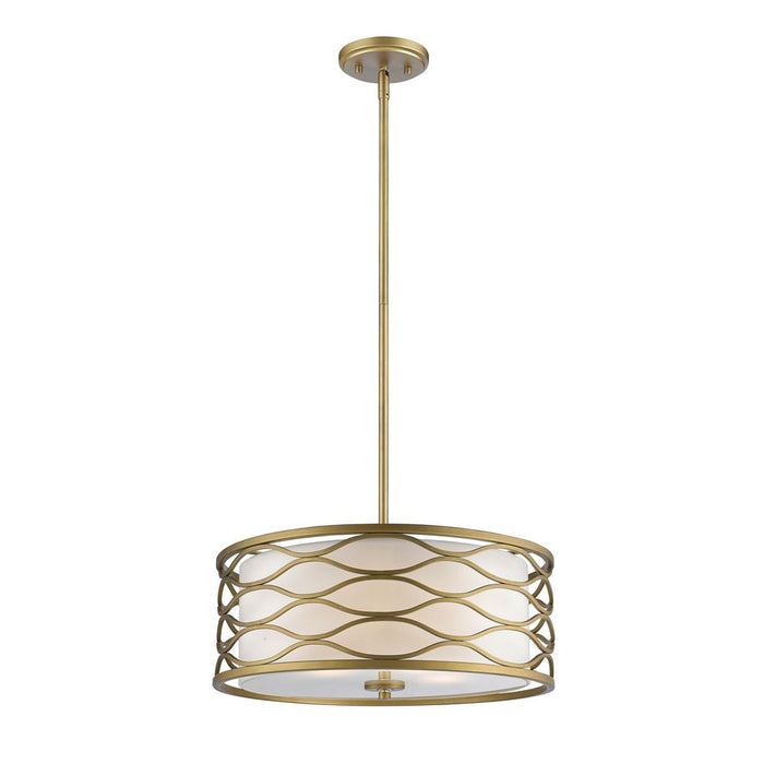 Z-Lite 615-20OG Severine 4 Light Pendant in Old Gold