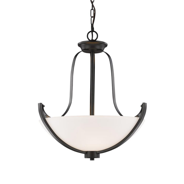 Z-Lite 7000P-BRZ Halliwell  3 Light Pendant in Bronze