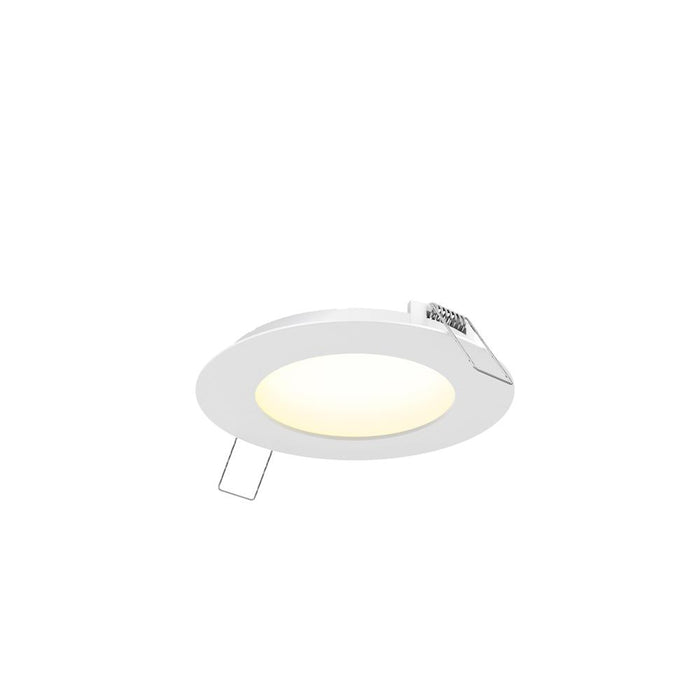 "Dals Lighting 7003-WH 3"" LED Round PRO Panel Light, 6W, 3000k, 600 Lumens - WH"