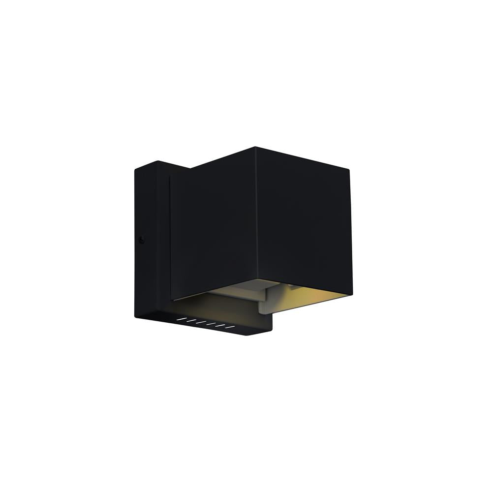 CWI Lighting 7148W4-101-S Lilliana LED Wall Sconce with Black Finish