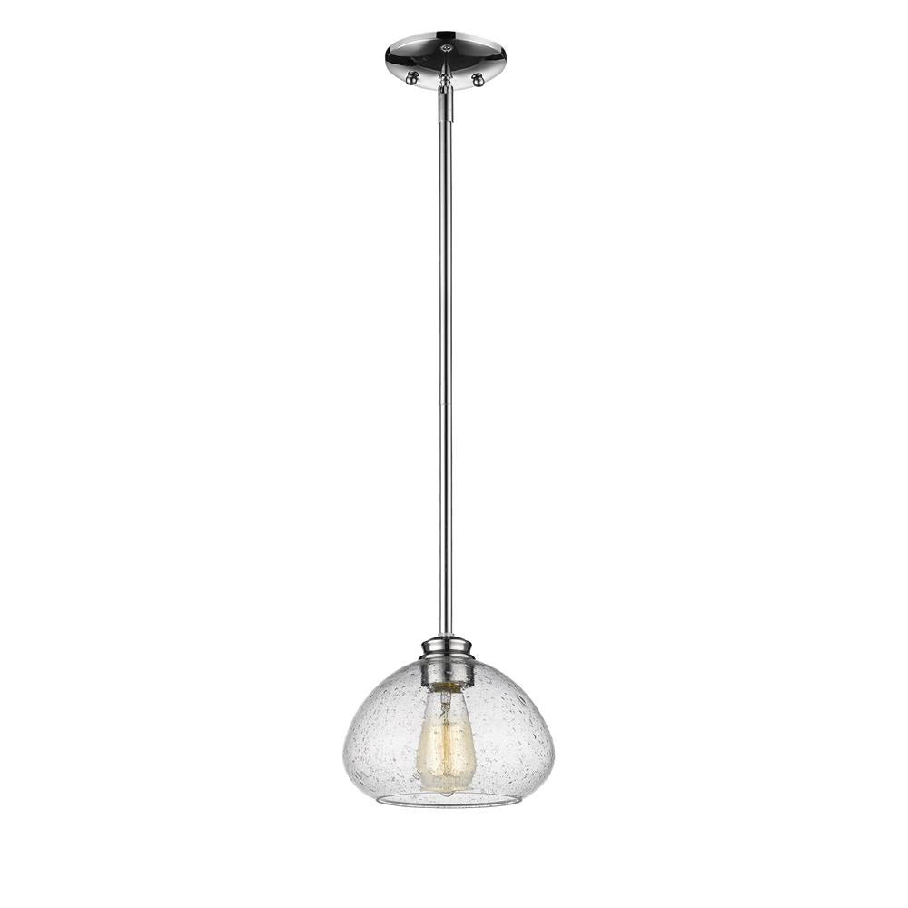 Z-Lite 722MP-CH Amon 1 Light Mini Pendant in Chrome