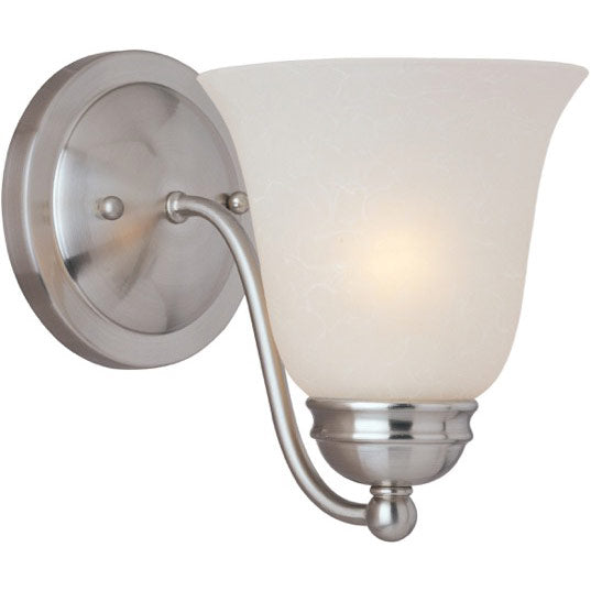 Maxim Lighting 85131ICSN Basix EE 1-Light Wall Sconce in Satin Nickel