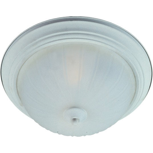 Maxim Lighting 85831FTTW 2-Light Flush Mount in Textured White