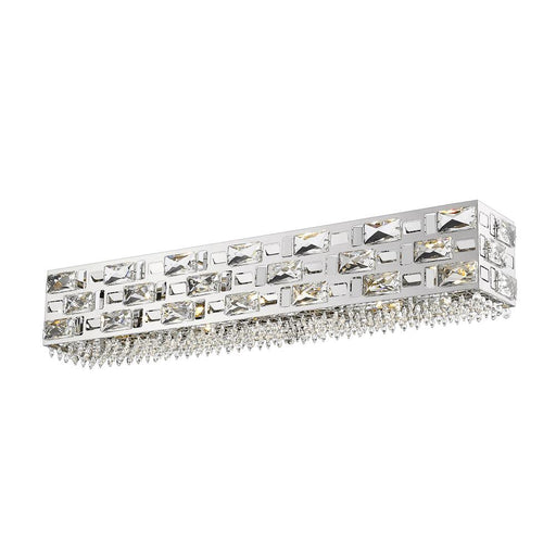 Z-Lite 912-6V-CH-LED Aludra 6 Light Vanity in Chrome