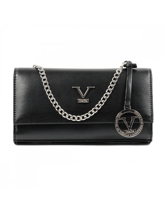 V 1969 Italia Womens Handbag Black BOLLA