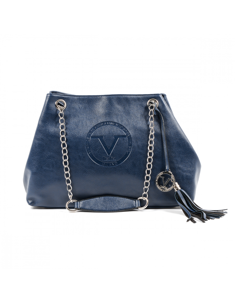 V 1969 Italia Womens Handbag Dark Blue MARION