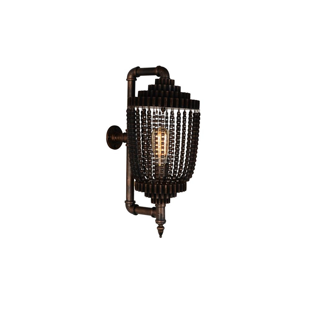 CWI Lighting 9727W9-1-210 Kala 1 Light Wall Sconce with Speckled copper finish
