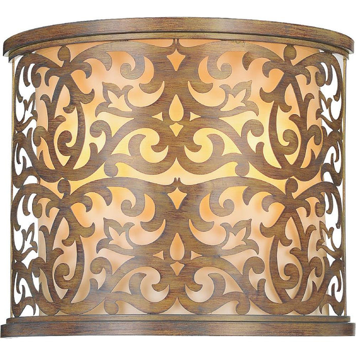 CWI Lighting 9807W13-2-116 Nicole 2 Light Wall Sconce with Brushed Chocolate finish
