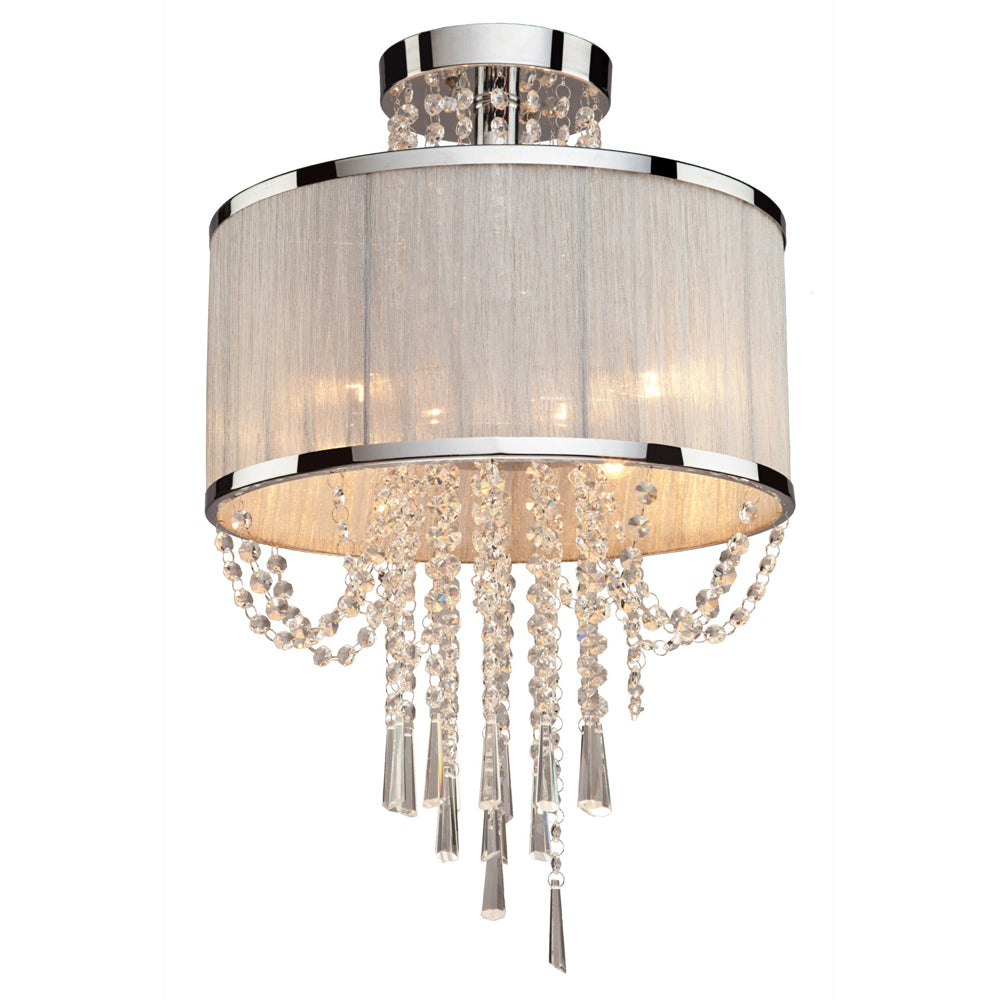 Artcraft Lighting AC10384 Valenzia 4 Light Semi Flush