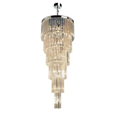 Artcraft Lighting AC10411JV El Dorado 17 Light Pendant in Chrome