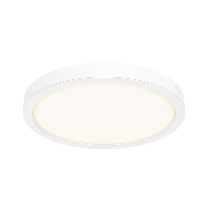 "Dals Lighting CFLEDR14-WH 14"" LED Round Flush Mount, 120V, 28W, 3000k, 1600 Lumens - WH"