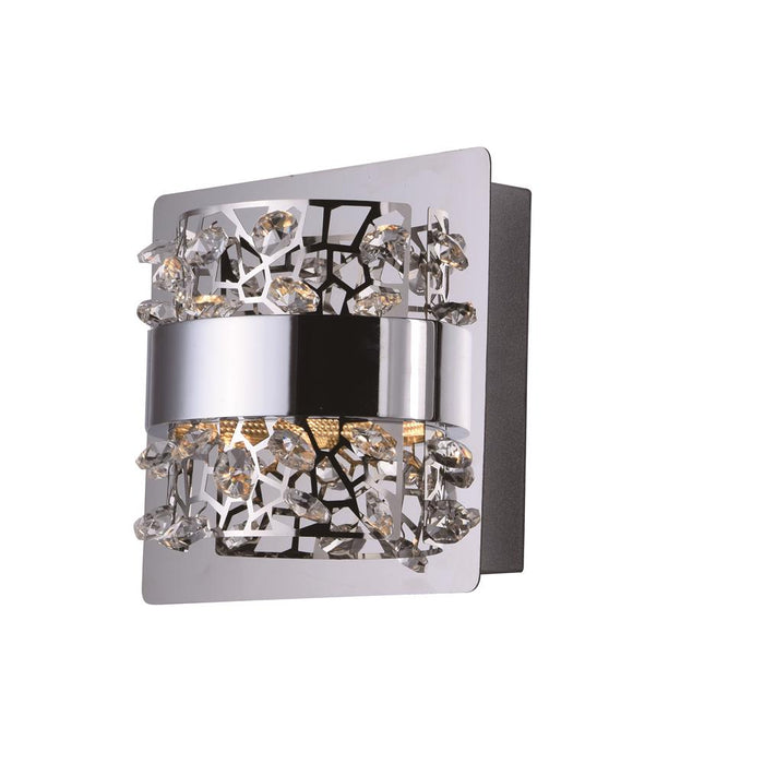 ET2 E20331-20PC Tiara-Wall Sconce in Polished Chrome